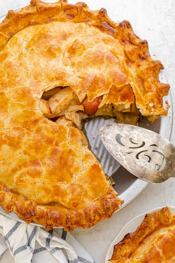 Tarte Aux Pommes Facile Recette Facile Et Saine