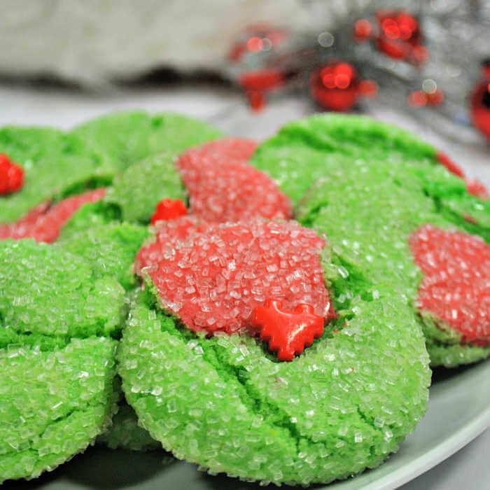 Recette Facile De Biscuits Grinch Recette Facile Et Saine