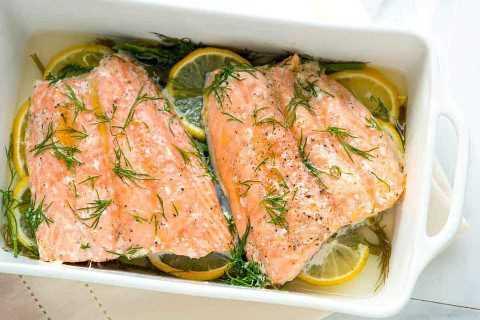 Cómo hacer el mejor salmón en el horno