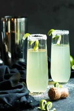 Mexicano 75 - Un Cóctel de Tequila y Champán
