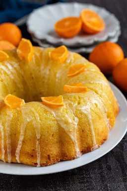 Cómo hacer un Bizcocho de Naranja Glaseado