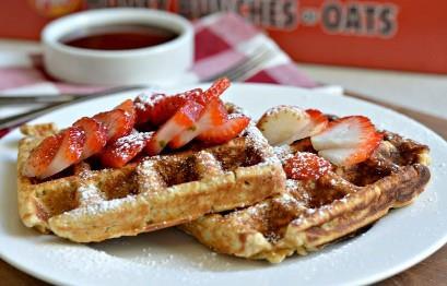 Miel Racimos De Avena Waffles 5