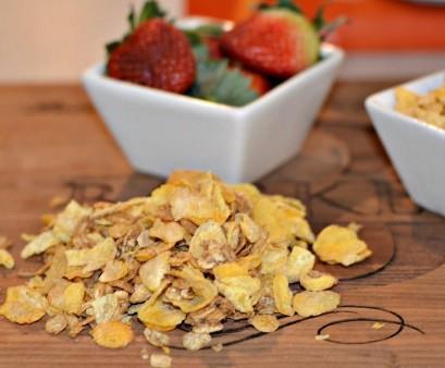Parfait de fruta y yogurt fácil 2