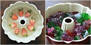proceso de gelatina de mosaico