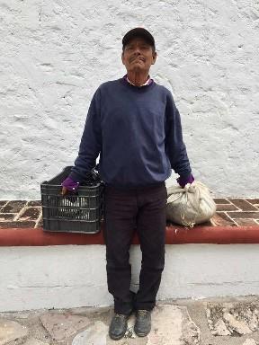 Don Cirilo Vendedor de frutas y verduras, San Miguel de Allende