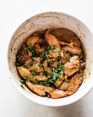 Adobo de fajita de pollo - ¿Limitada a tiempo? ¡Prepare estas Fajitas de pollo saludables y fáciles en solo 30 minutos para una cena rápida y deliciosa de México esta noche!