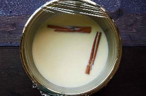 Tigela com tampa plástica Horchata Base