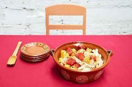 Ensalada De Frutas Mexicanas Con Tajin