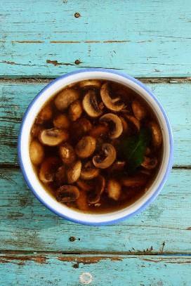 Sopa de cogumelos Sopa de cogumelos