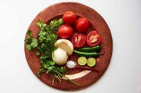 Ingredientes para hacer auténtico Pico de Gallo