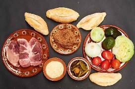 Ingredientes para hacer Torta de pierna de cerdo
