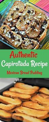 En el interior: sigue leyendo para descubrir cómo hacer una auténtica receta de Capirotada (Pudding de Pan Mexicano), que es un delicioso postre mexicano.