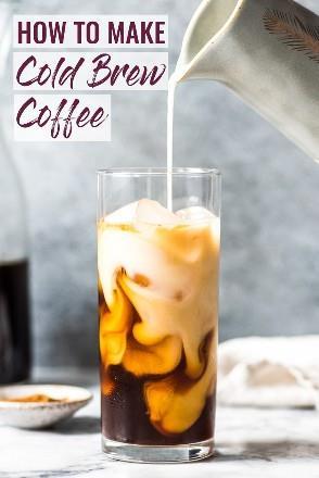 ¡Cómo hacer café frío en casa! No más costosos y caros lattes helados: ¡hazlos tú mismo con cerveza fría! #coldbrew #coffee #icedcoffee #latte
