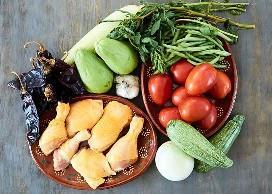 Ingredientes Clemole De Pollo