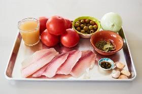 Ingredientes Pescado Blanco A La Veracruzana