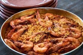 Camarones Mexicanos Con Arroz Al Curry