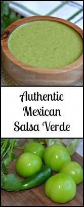 ¡Esta Salsa Verde es tan auténtica como es posible! ¿La mejor parte? Puedes hacerlo en menos de 20 minutos y va muy bien con cualquier cosa.