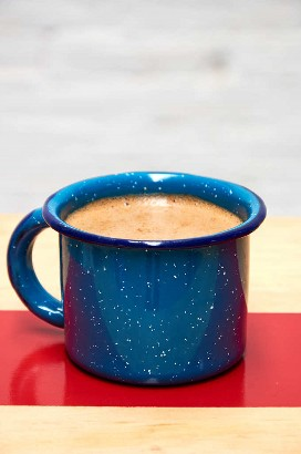 Taza de chocolate caliente mexicano