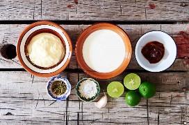 Ingredientes Chipotle Receta De Salsa De Taco De Pescado