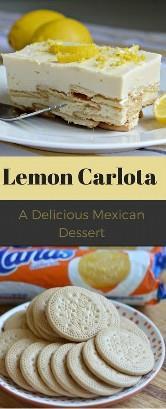 Esta é uma receita simples de sobremesa, como você encontrará, mas é deliciosa! Um limão carlota é uma sobremesa mexicana muito popular no México. Requer apenas 4 ingredientes!