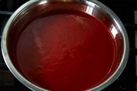 Molho Guajillo vermelho para costelinha de porco