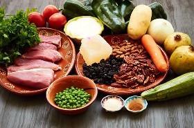 Ingredientes Chiles en Nogada