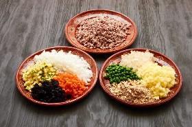 Ingredientes Preparados Chiles Em Nogada