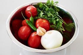 Ingredientes Salsa Roja Fácil