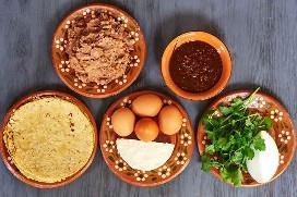 Ingredientes para Migas Norteñas