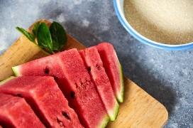 Ingredientes para hacer agua de sandía