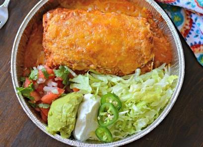 Carne Asada Burritos listos para comer