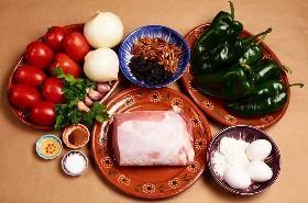 Ingredientes Chiles Rellenos