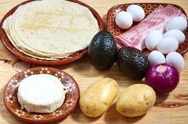 Desayuno Taco Ingredientes