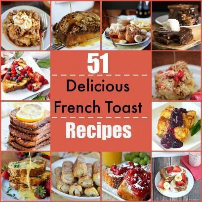 Aqui estão 51 deliciosas receitas de torradas francesas