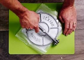 Cómo utilizar una prensa de tortilla