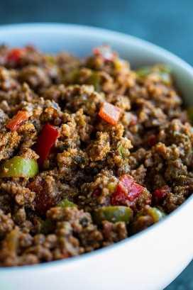 picadillo puertorriqueño con receta de carne molida
