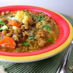 Sopa De Lentejas Marroquí