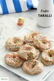 Taralli para a Páscoa