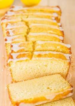 The Best Lemon Loaf (Copycat de Better-Than-Starbucks) - Tomó años, ¡pero finalmente lo recreé! Fácil, sin mezclador, sin mezcla para pastel, peligrosamente bueno !!
