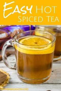 imagen de pinterest té caliente con especias