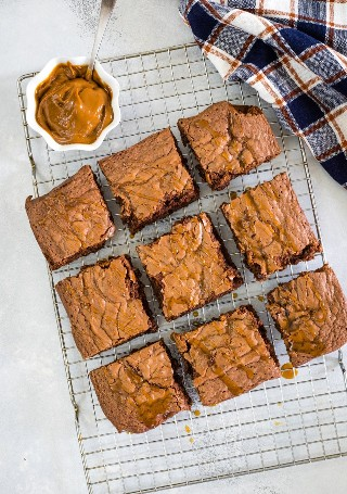 Brownies Dulce De Leche - Galleta Pequeña Inteligente