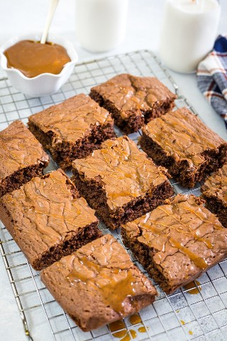 Brownies Dulce De Leche - Galleta Pequeña Inteligente