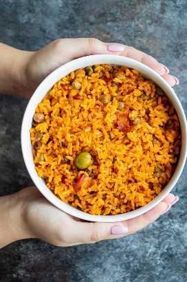 Arroz con gandules receta tradicional de arroz puertorriqueño con guisantes