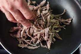 Cocinar Taco De Carne