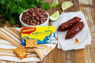 Guiso De Chorizo Y Frijoles - Galleta Pequeña Inteligente