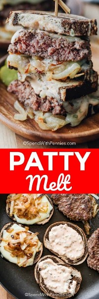 Dos fotos de Homty Patty Melts
