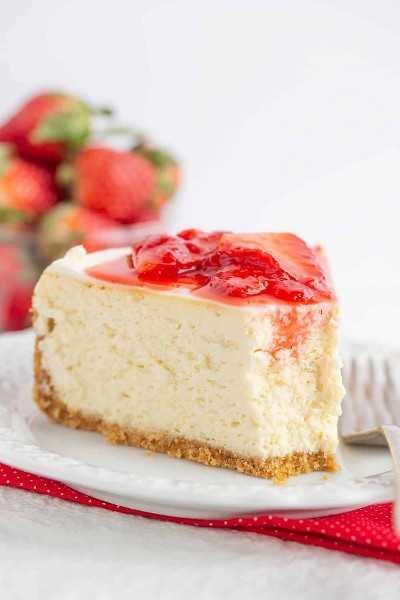 Cómo hacer cheesecake de fresa