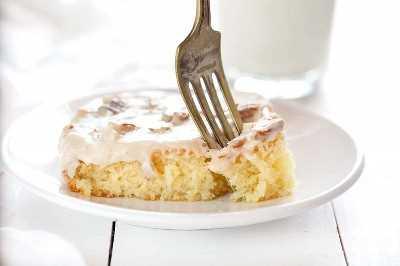 Torta De Hoja De Almendra Blanca