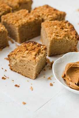 Pastel de mantequilla de maní
