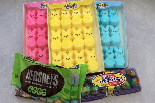 Doces para Peeps Easter Bark